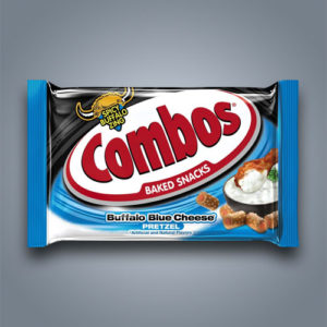 combos blue cheese pretzel in monoporzione