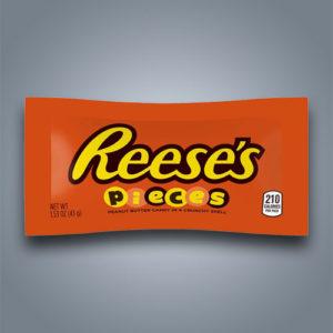 reese's pieces confetti al cioccolato con ripieno di burro di arachidi