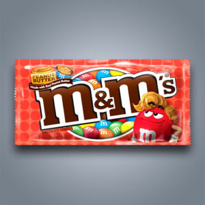 M&M's americani al burro di arachidi