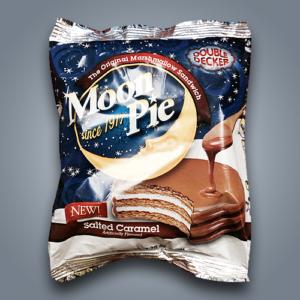 originali sandwich di marshmallow moon pie salted caramel al caramello salato