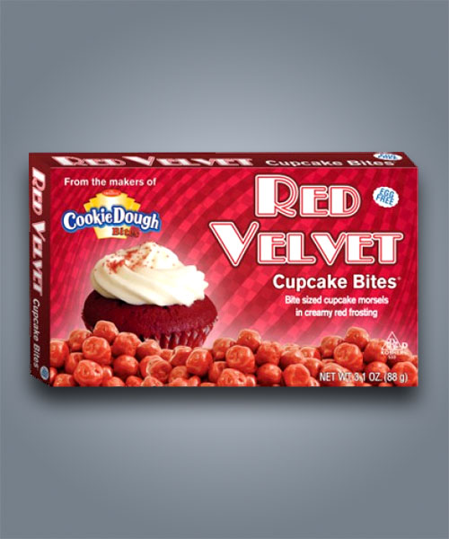 Cookie Dough Bites, palline al gusto di cupcake Red Velvet