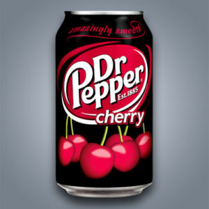 Dr Pepper Cherry Soda, Dottor Pepper al gusto ciliegia