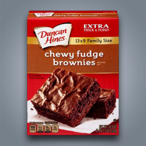 duncan hines preparato brownies gusto fudge
