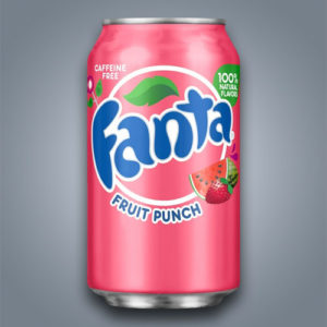 Fanta Fruit Punch, gusto multifrutto fragola e anguria