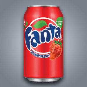 Fanta Strawberry al gusto fragola