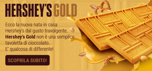 Tavoletta di cioccolato Hershey's Gold