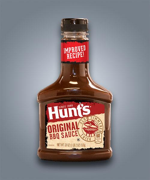 Hunt's Original, salsa barbecue