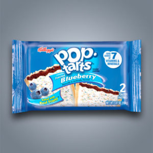 Pop Tarts al mirtillo con glassa
