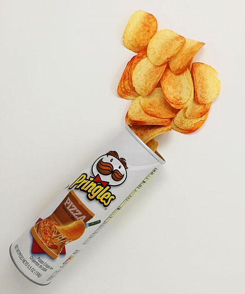 Pringles Pizza, patatine al gusto pizza