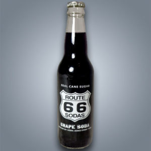 Route 66 Grape Soda, bibita gassata al gusto uva