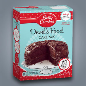 Betty Crocker preparato per torta Devil's Food Cake