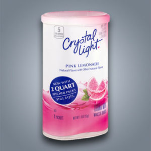 Crystal Light Limonata Rosa