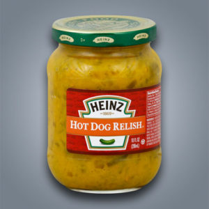 Heinz Hot Dog Relish condimento per hot dog