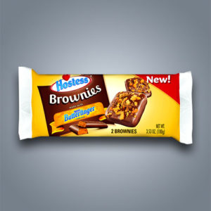 Hostess Butterfinger Brownie, merendine al cioccolato e burro di arachidi