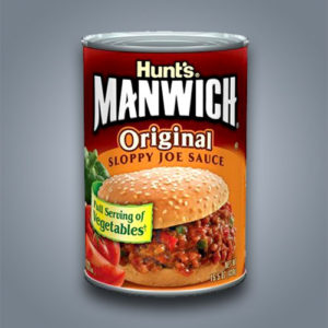Condimento per hamburger Hunt's Manwich Sloppy Joe