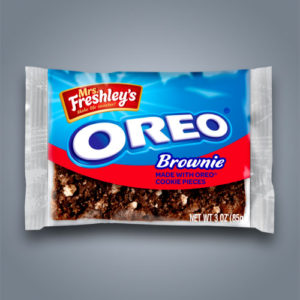 Merendina Mrs Freshley Oreo Brownie