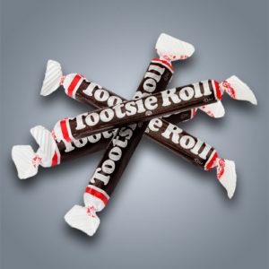 Tootsie Rolls caramelle mou al cioccolato