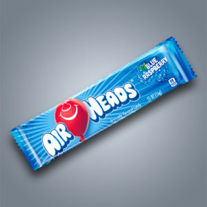 Airheads Raspberry caramelle gommose al lampone