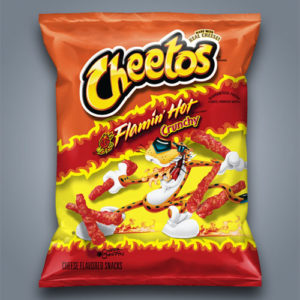Patatine Cheetos Flamin Hot crunchy