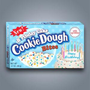 Cookie Dough Bites gusto torta di compleanno