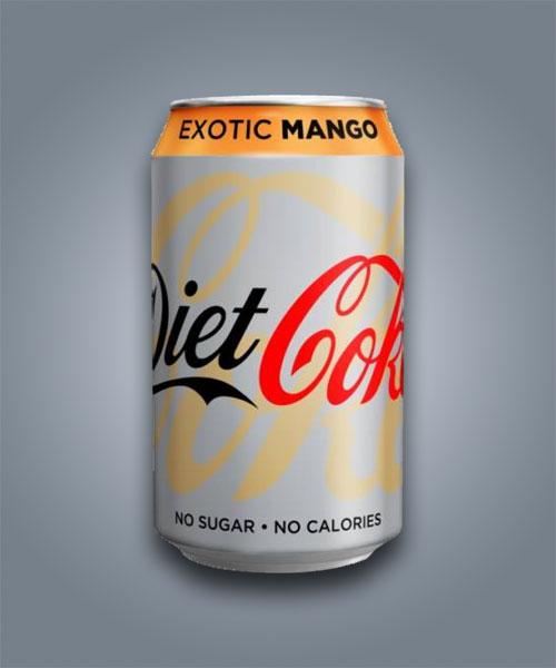 Coca Cola Diet Exotic Mango