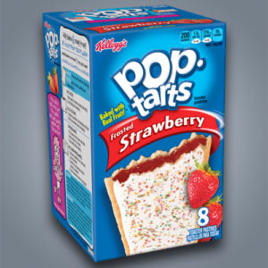 Kellogg's Pop Tarts Strawberry al gusto fragola