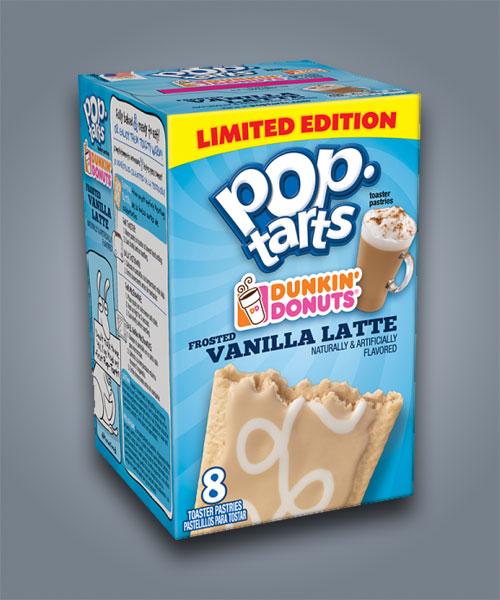 Pop Tarts Dunking Donuts Vanilla Latte