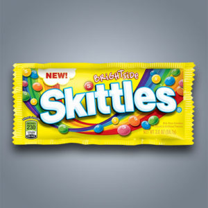 Caramelle Skittles Brightside gusti frutta inediti