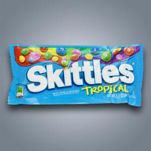 Caramelle Skittles Tropical gusto frutti tropicali