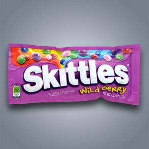 Skittles Wild Berry caramelle ai frutti di bosco