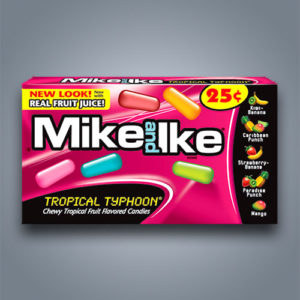 Caramelle Mike and Ike ai gusti tropicali