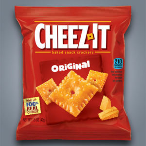 Crackerz Cheez-It Original al gusto di formaggio cheddar