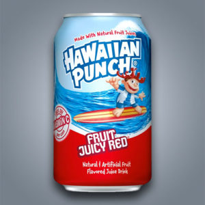 Bevanda non gassata, succo di frutta Hawaiian Fruit Punch Juicy Red