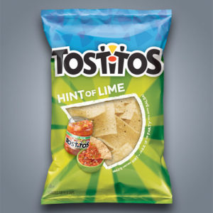 Patatine di Mais Tostitos Hint of Lime