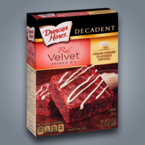 Duncan Hines preparato per brownies Red Velvet
