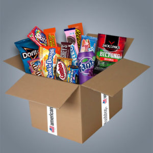 "American Food Box ""Medium"" da 20 prodotti"