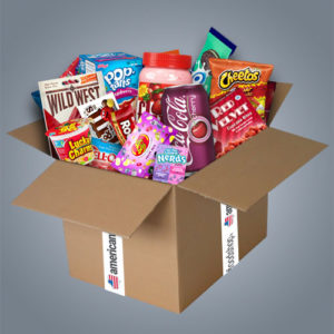 "American Food Box ""Large"" da 30 prodotti"