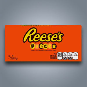Reeses Pieces Theatre Box