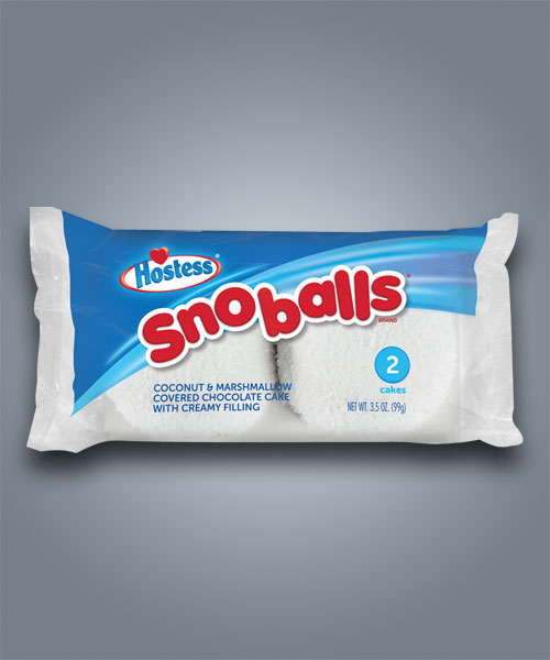 Merendine Hostess Snow Balls