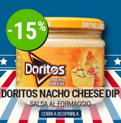 Salsa Nacho Cheese Dip Doritos in offerta