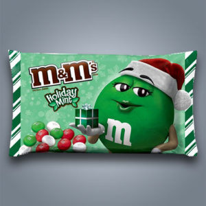 M&M's Holiday Mint, confettini di cioccolato alla menta