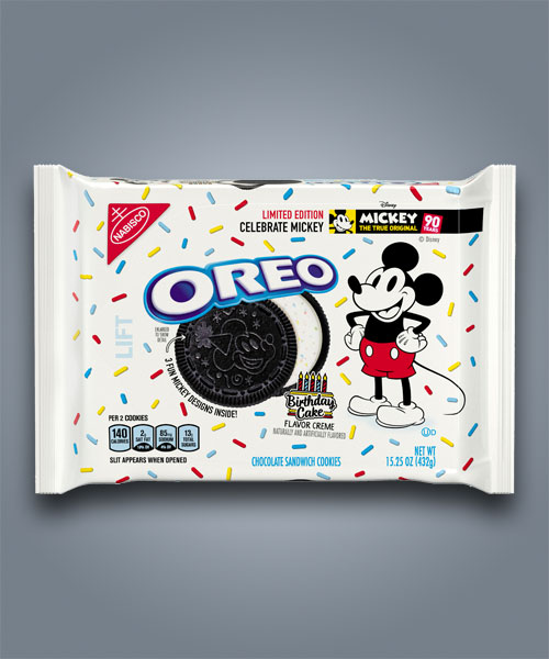 Oreo Micky Mouse gusto torta di compleanno