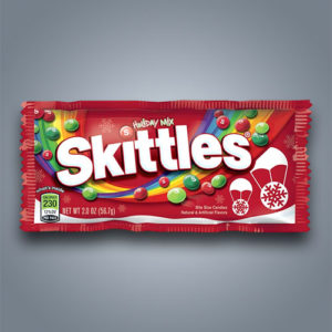 Caramelle fruttate Skittles Holiday Mix