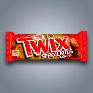Twix Spekulatius al sapore di biscotti speculoos