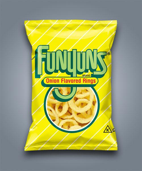 Funyuns Onion rings patatine di mais alla cipolla