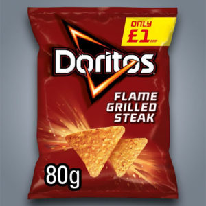 Doritos Flame Grilled Steak, gusto bistecca alla griglia