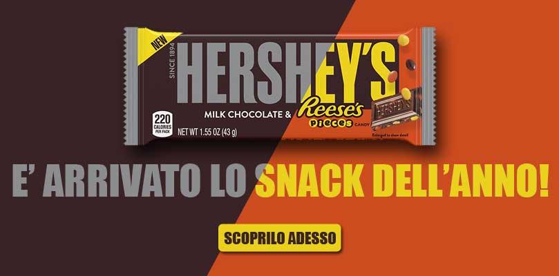 Tavoletta di cioccolato Hershey's con Reese's Pieces