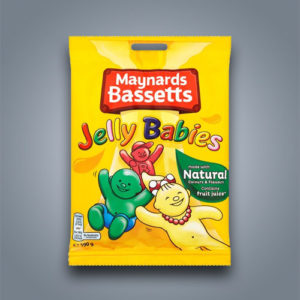 Jelly Babies, caramelle gommose alla frutta