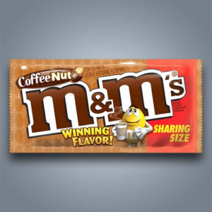 M&M's Coffee Nut, gusto cioccolato al caffè