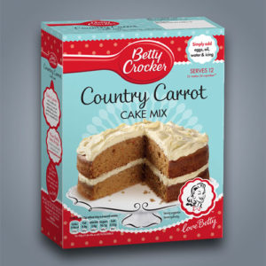 Preparato Betty Crocker per torta Carrot Cake